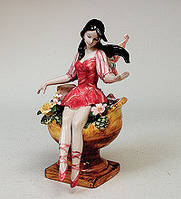 """Фарфоровая статуэтка """"Девушка, Эльф"""" (Pavone) JP-07/ 3"""