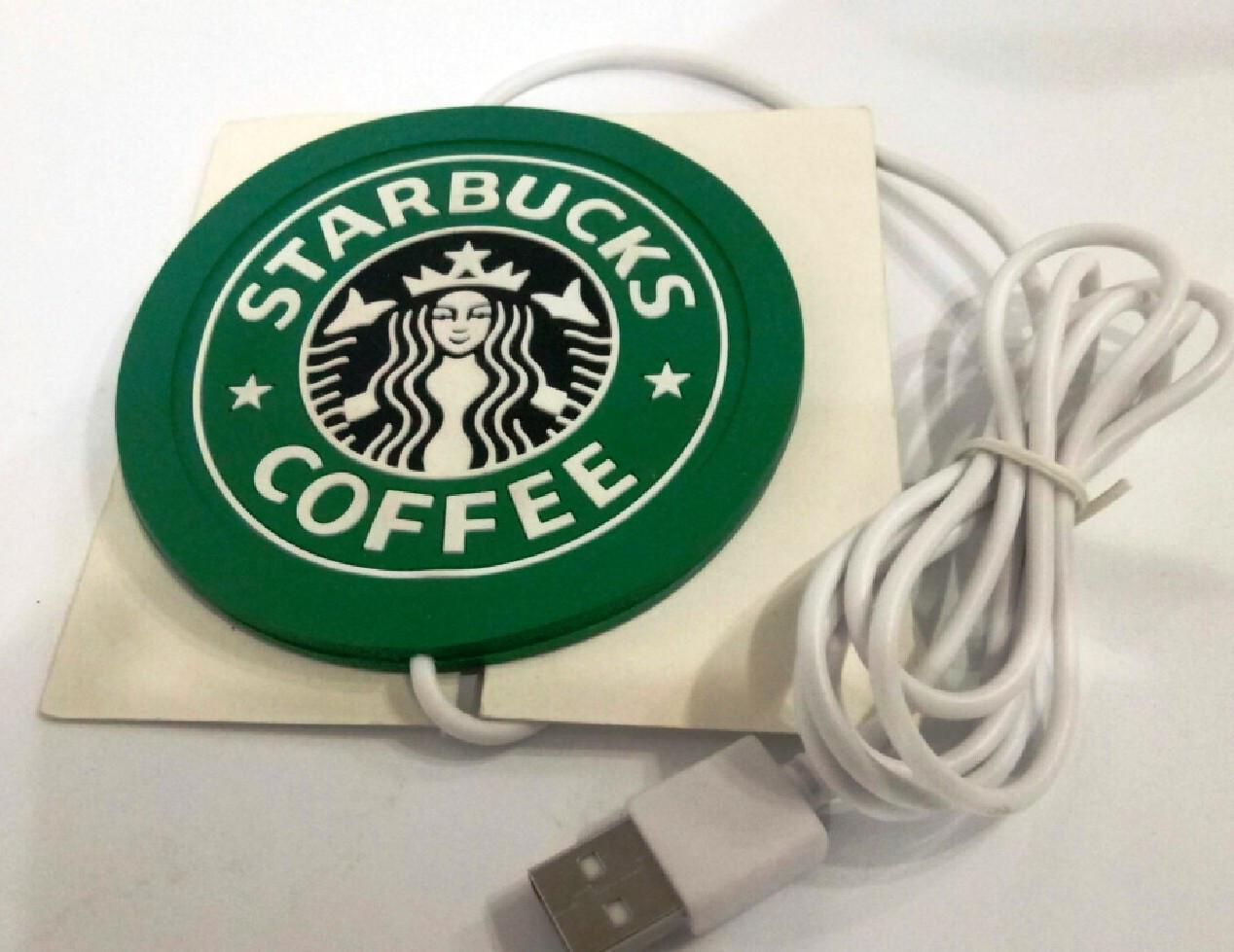 "Подставка под чашку с подогревом от USB ""Starbucks"""