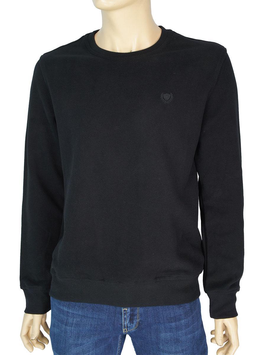 Чоловічий турецький светр Better Life 529 H в чорному кольорі