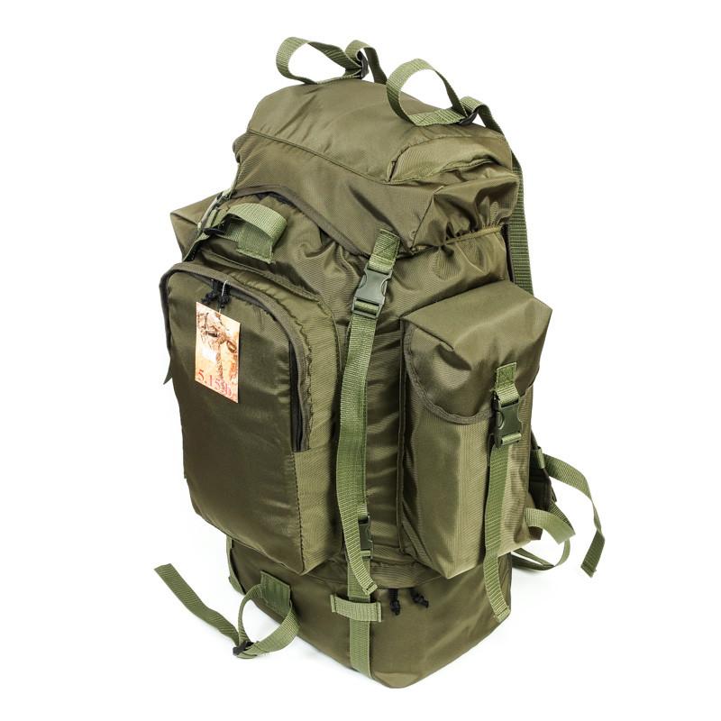 Туристичний армійський супер-міцний рюкзак 75 л. Афган з ортопедичною спинкою. Армія рибалка спорт туризм