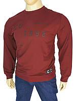Бордовий чоловічий светр Madmext Man 2199 у великому розмірі
