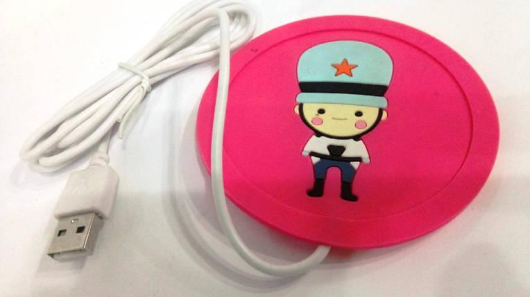 """Подставка под чашку с подогревом от USB """"Солдат"""", фото 2"""