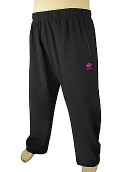 Чоловічі спортивні брюки Dekons 1071 B чорного кольору великих розмірів