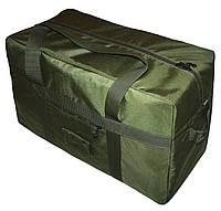 Тактическая супер-крепкая сумка 100 Литров. Экспедиционный баул. Олива. ВСУ охота спорт туризм рыбалка.