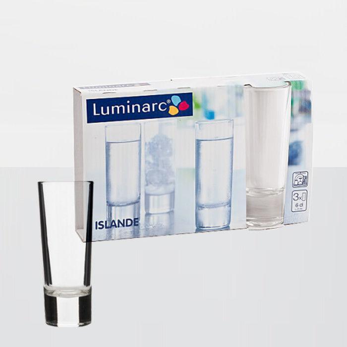 Luminarc Islande Набір стопок 3х60мл J2891/E5095