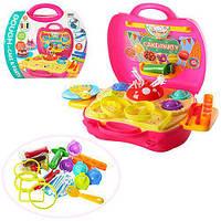 Пластилин 5 штук в стиках, ароматизатор, кондитерская, формочки, инструменты, в чемодане