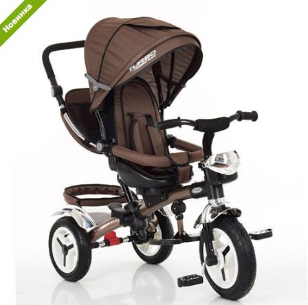 Трехколесный велосипед M 3200A-13 (аналог Puky Cat S6), шоколад ***