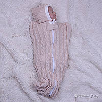 Кокон Weave для новорожденных (карамель)
