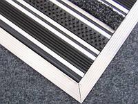 Придверные решетки «Нова» наполнение (резина+тестиль+щетка)