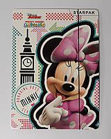 Папка картонная На резинках Минни-Маус 352912 Starpak Польша