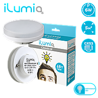 Лампа Ilumia 054 L-6-Pill-GX53-NW, 480Лм, 5,5 Вт, GX53, 4000K