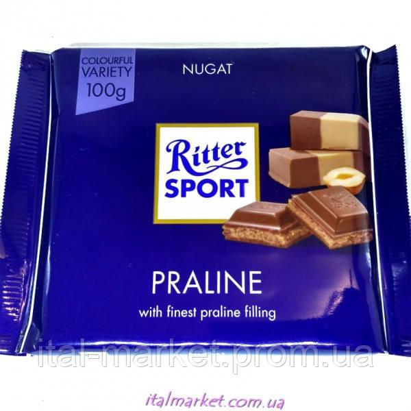 Шоколад Риттер Спорт Пралине Ritter Sport Praline 100г