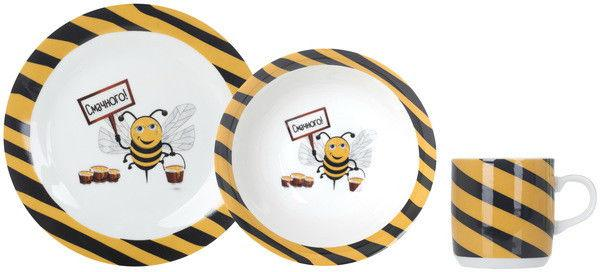 Luminarc Limited Edition Busy Bee Набор детский 3пр. С145