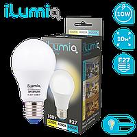 Лампа Ilumia 062 IL-10-A60-E27-WW+NW+CW 1000Лм, 10Вт, все цветов. температуры