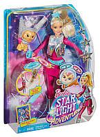 """Кукла Барби и космический котик из м/ф """"Барби: Звездные приключения"""""""
