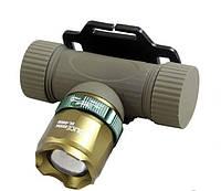 Налобный аккумуляторный фонарь Police BL 6866 1000W