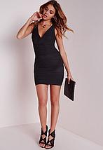 Новое черное облегающее платье Missguided, фото 3