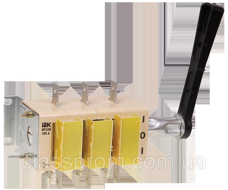 Выключатель-разъединитель ВР32И-31B71250 100А на 2 напр. съем.рук. IEK