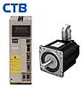 Комплектный сервопривод CTB 5 кВт 1500 об/мин 32 Нм фланец 192 мм 380В с тормозом (замена двигателя 4МТВ-С)