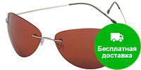 Очки для водителей мужские в облегченной оправе с поляризационными линзами AUTOENJOY (АВТОЭНДЖОЙ) AEJL03
