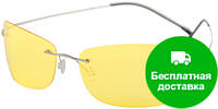 Очки для водителей мужские в облегченной оправе с поляризационными линзами AUTOENJOY (АВТОЭНДЖОЙ) AEJL01Y