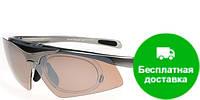 Очки для водителей мужские с поляризационными линзами и диоптрийной рамкой AUTOENJOY (АВТОЭНДЖОЙ) AEJSM02G