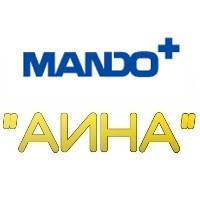 Амортизатор CHEVROLET Aveo передний левый (масло) Mando DSS010007 = EX96586887