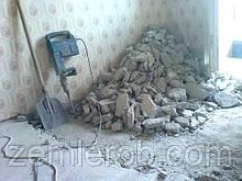 Демонтаж старой постройки в Харькове