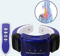 Массажер для шеи миостимулятор с пультом