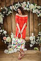 Женское стильное платье-туника