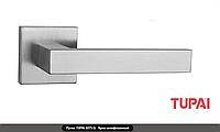 Дверная ручка  Tupai SQUARE 2275Q хром матовый