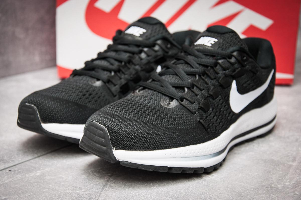 Кроссовки мужские в стиле Nike  Zoom Vomero 12, черные (12184),  [  42