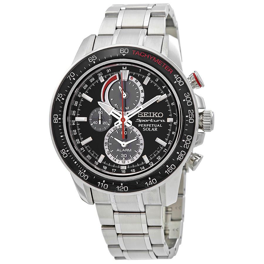 Часы Seiko Sportura SSC357P1 SOLAR V198