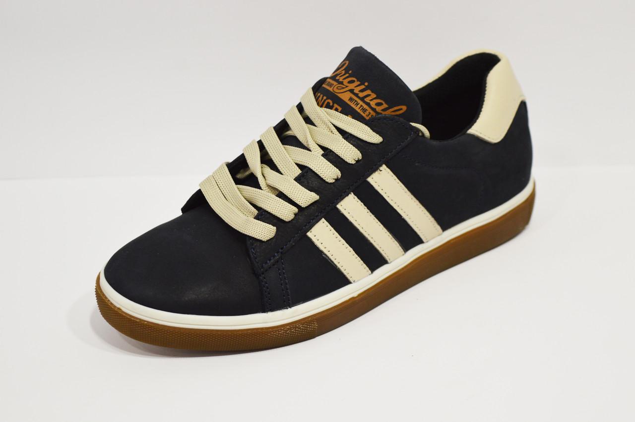 Кроссовки подростковые синие Konors 8055