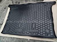 Коврик в багажник FIAT Doblo 5 мест короткая база с 2010 г. (Автогум AVTO-GUMM)