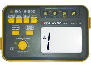 Мегаомметр Victor VC60D+