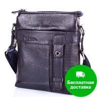 Мужская кожаная сумка-планшет TOFIONNO (ТОФИОННО) TU619-209-blue
