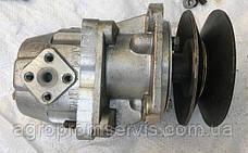 Привод насоса НШ-10 для мини-трактора под шкив  диаметром 130мм., фото 3