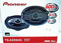 Автомобильная акустика колонкиPioneer TS-A6994S 6x9 овалы (600W) 5ти полосные , фото 1
