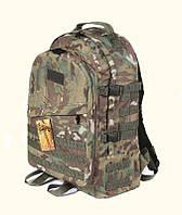 Тактический походный крепкий рюкзак с органайзером 40 литров мультикам. Спорт, туризм, армия, охота, рыбалка.