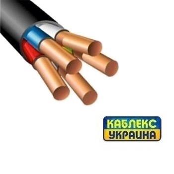 Кабель медный ВВГ нгд 5х6 (Каблекс Одесса)