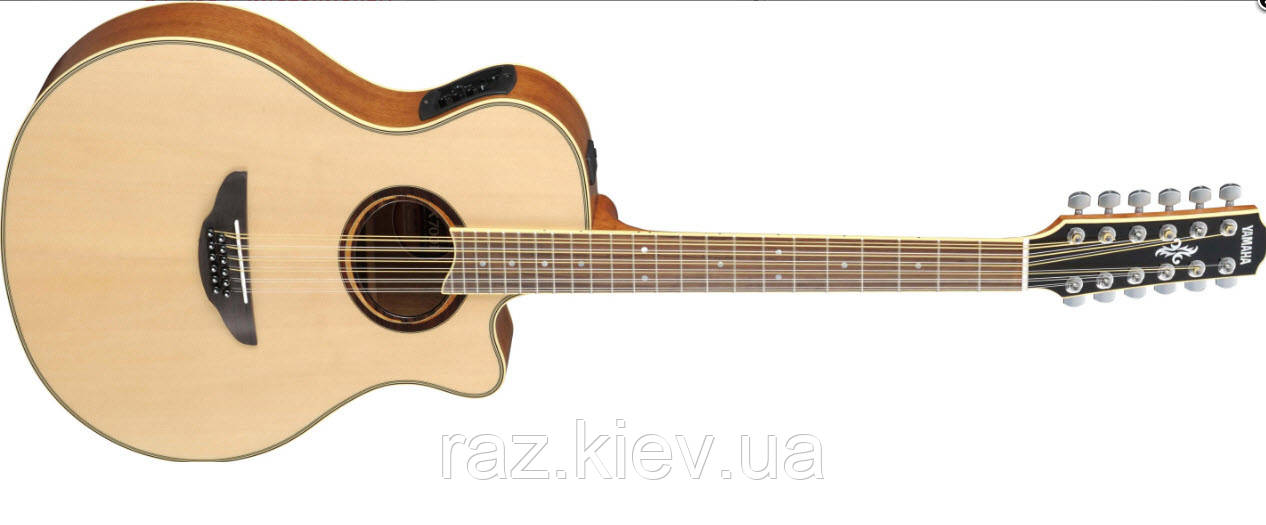 Электроакустическая гитара YAMAHA APX700 II-12 (NAT) 12-струнная версия модели APX-700II