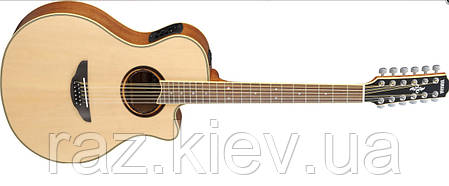 Электроакустическая гитара YAMAHA APX700 II-12 (NAT) 12-струнная версия модели APX-700II, фото 2