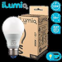 Лампа Ilumia 002 L-15-A65-E27-WW 1500Лм, 15Вт, 3000К