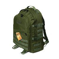 Тактический походный крепкий рюкзак с органайзером на 40 литров афган. Туризм,спорт,армия, рыбалка, охота