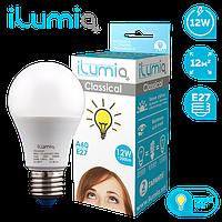 Лампа Ilumia 004 L-12-A60-E27-WW 1200Лм, 12Вт, 3000К