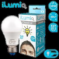 Лампа Ilumia 007 L-10-A60-E27-NW 1000Лм, 10Вт, 4000К