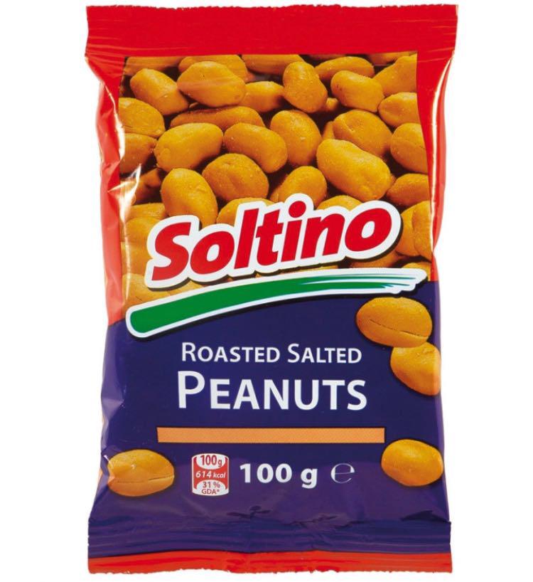 Орешки Soltino соленые 100 г