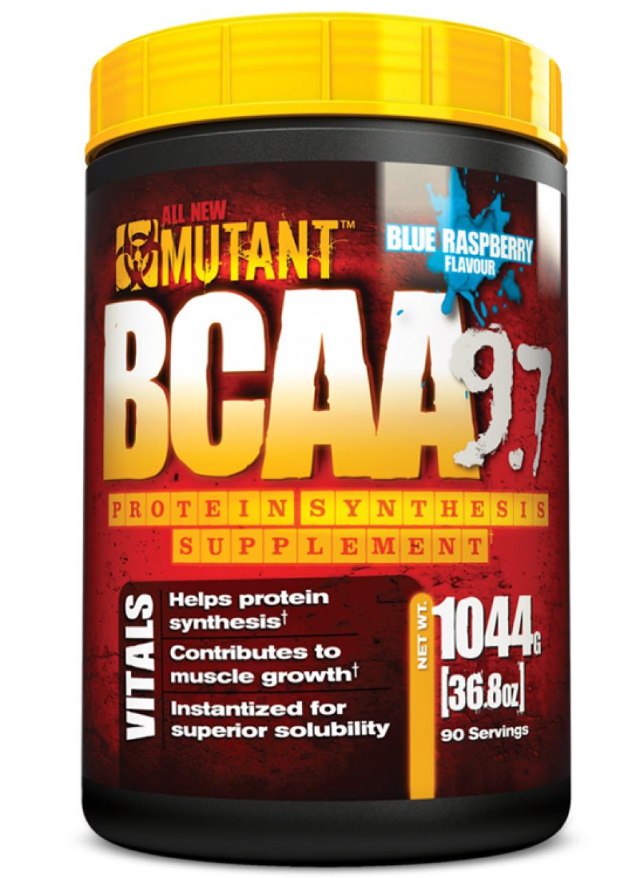 Аминокислоты ВСAA MUTANT BCAA 9.7 1044 г Вкус : blue raspberry