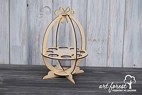 Пасхальная подставка для яиц и кулича
